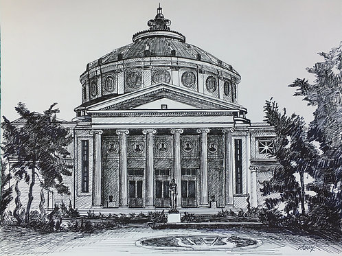 Bucharest 5: Romanian Athenaeum