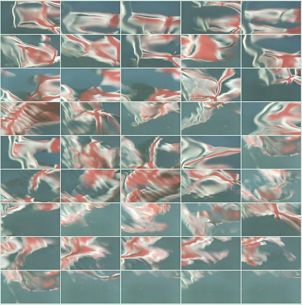 Portrait of Jack. The Union Jack reflected in the water near Henley. by Allan Henderson. www.allanhenderson.me