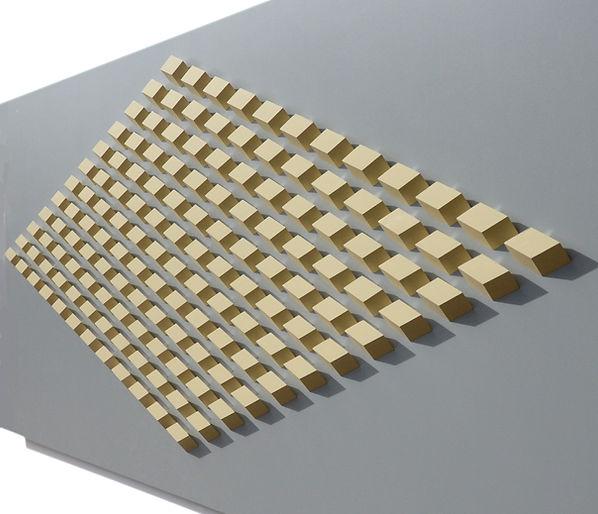144.1 Geometric. wall sculpture by Allan Henderson. www.allanhenderson.me