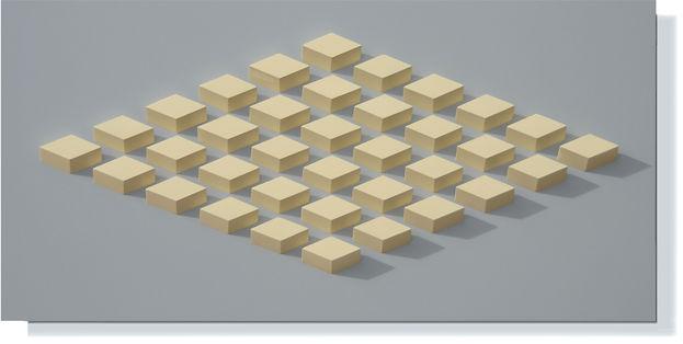 036.1 Geometric. wall sculpture by Allan Henderson. www.allanhenderson.me