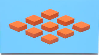 009.4 Geometric. wall sculpture by Allan Henderson. www.allanhenderson.me