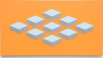 009.2 Geometric. wall sculpture by Allan Henderson. www.allanhenderson.me