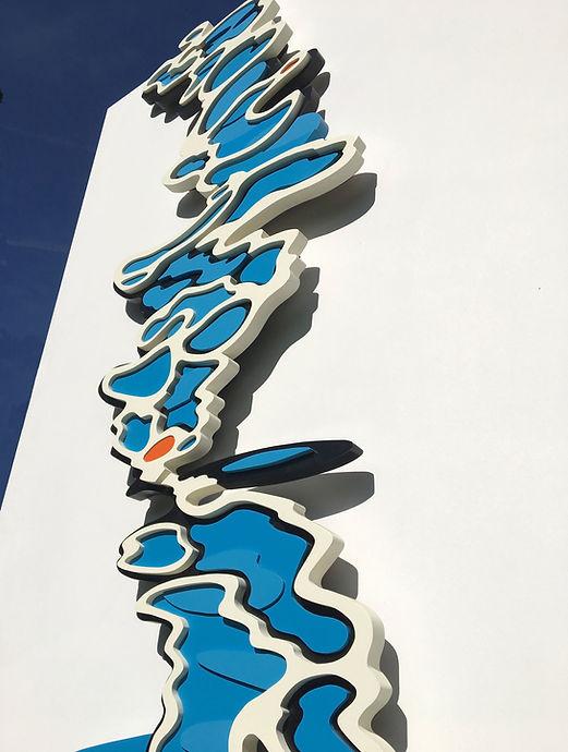 Water Dance Sculpture by Allan Henderson. www.allanhenderson.me