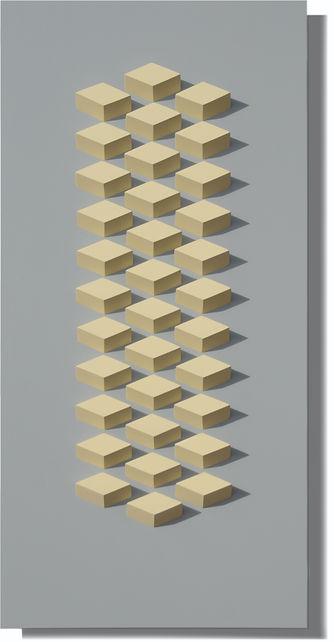 034.1 Geometric. wall sculpture by Allan Henderson. www.allanhenderson.me