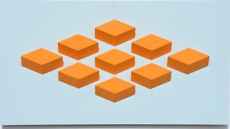 009.3 Geometric. wall sculpture by Allan Henderson. www.allanhenderson.me