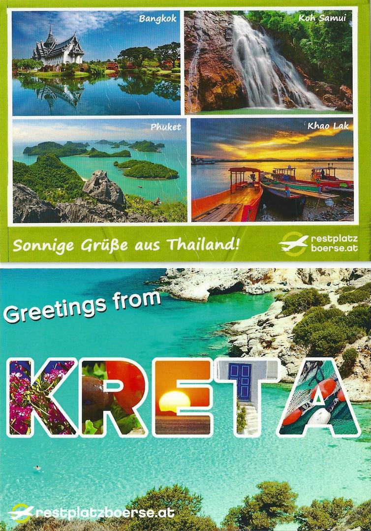 Postkarten Restplatzbörse
