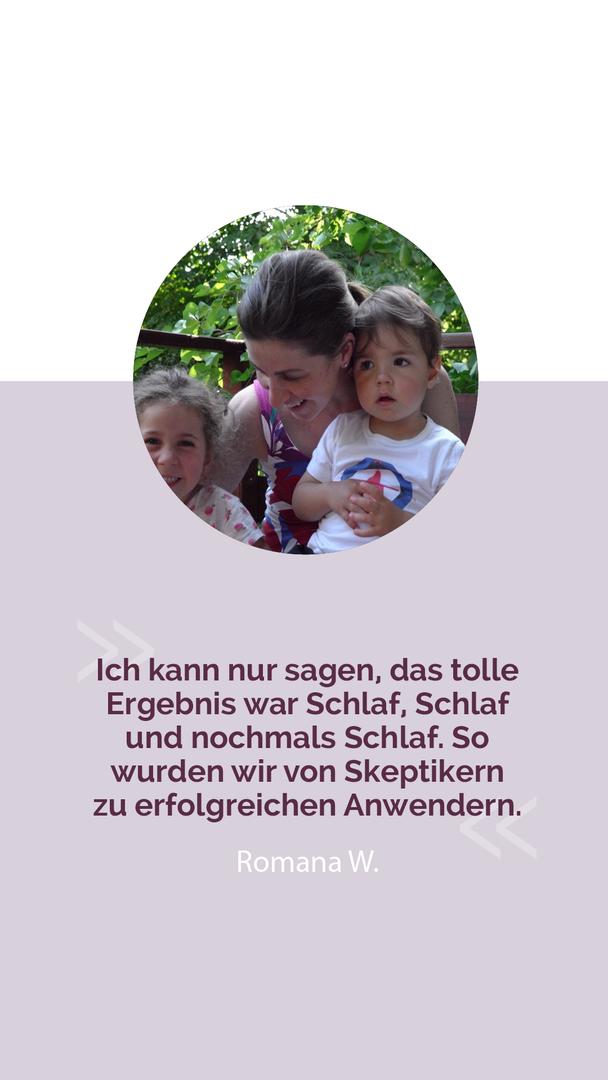 """Online Kampagne """"Endlich Durchschlafen"""" Facebook Ad Testimonial, 2017"""