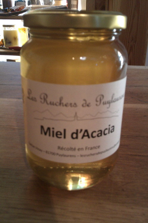 miel d'acacia qui cristallise