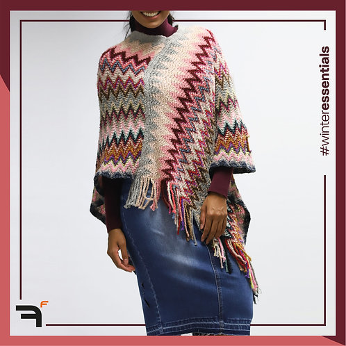 Assorted Poncho