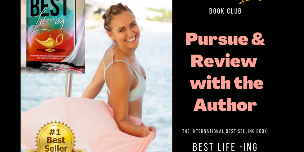 Book Club: 'Pursue & Review' with the author