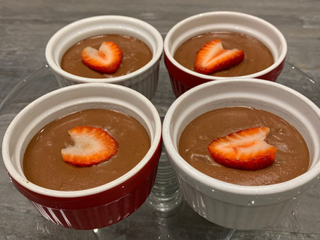 Glow Fit Chocolate Pudding
