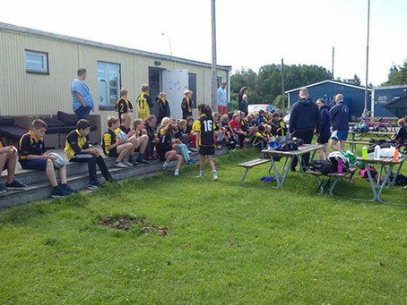 A great First day at our Rugbycamp