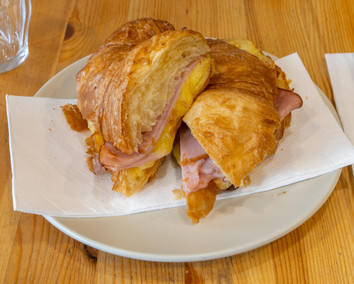 Off the rails_Ham and cheese croissant 3
