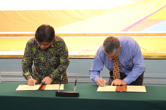 COOE (Change Climate) and BPPT Sign off on inaugural MoU