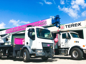 Services our cranes can be used for