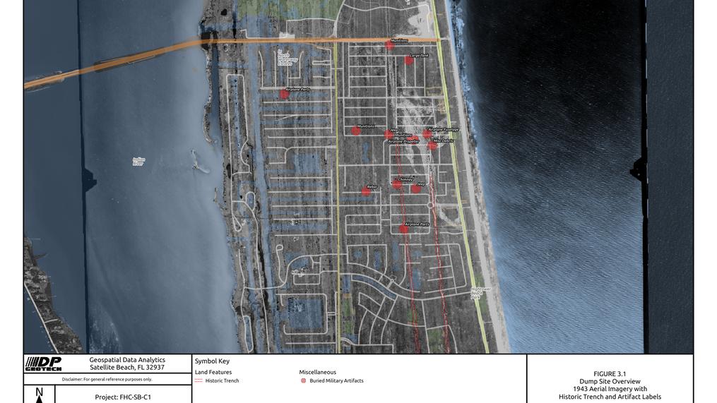 1943 Dumpsite Overview of South Patrick Shores