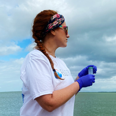 Sample of the Indian River Lagoon