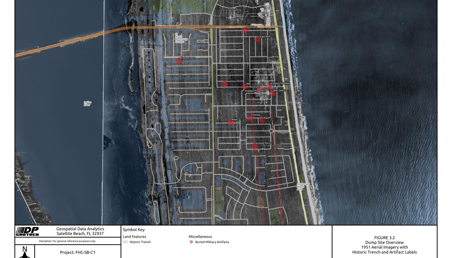 1951 Dumpsite Overview of South Patrick Shores