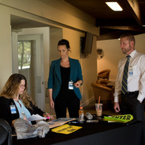 Volunteers at Brockovich Meeting