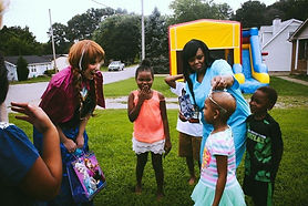 Stel Bailey surprising 6 year old with cancer