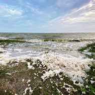 Indian River Lagoon with Foam