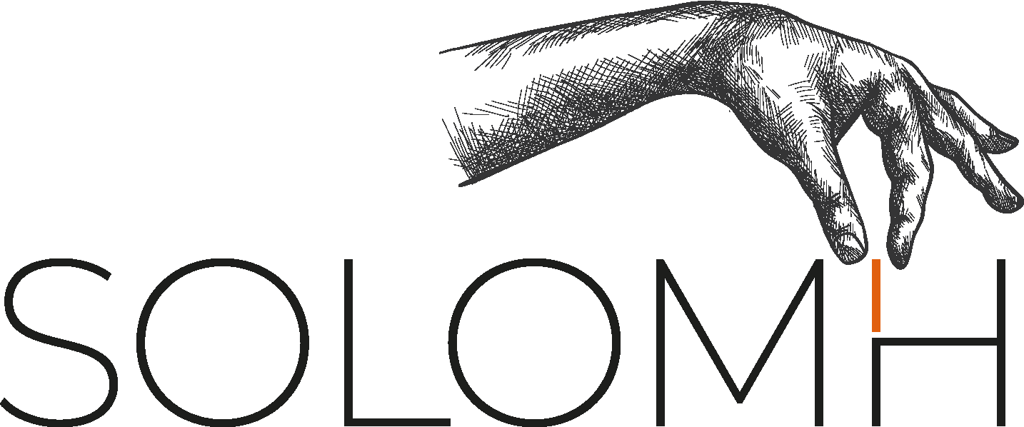 SOLOMH logo noir+orange