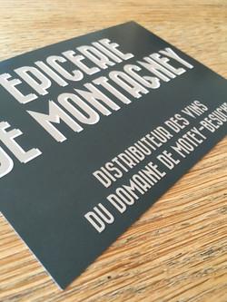 épicerie de Montagney, recto