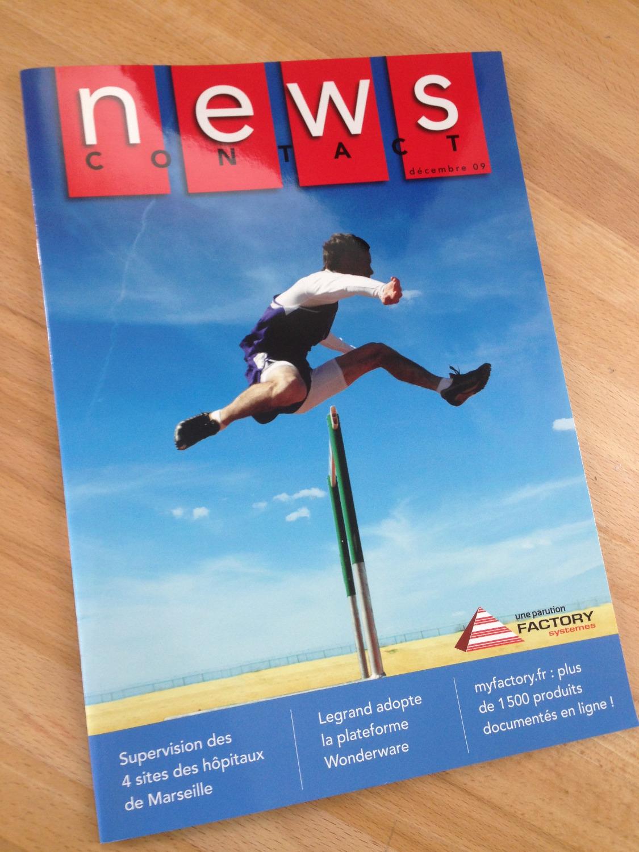news contact, journal d'entreprise