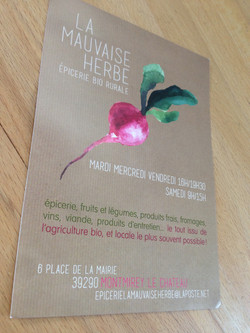 flyer mauvaise herbe