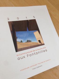 livret programme Fontanilles 2015