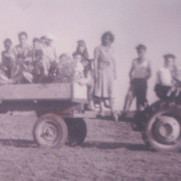 Travaux fermier à Choye