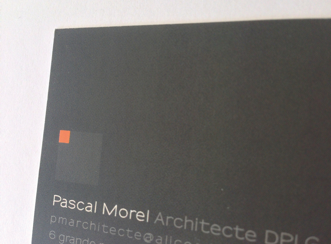 Pascal Morel Architecte