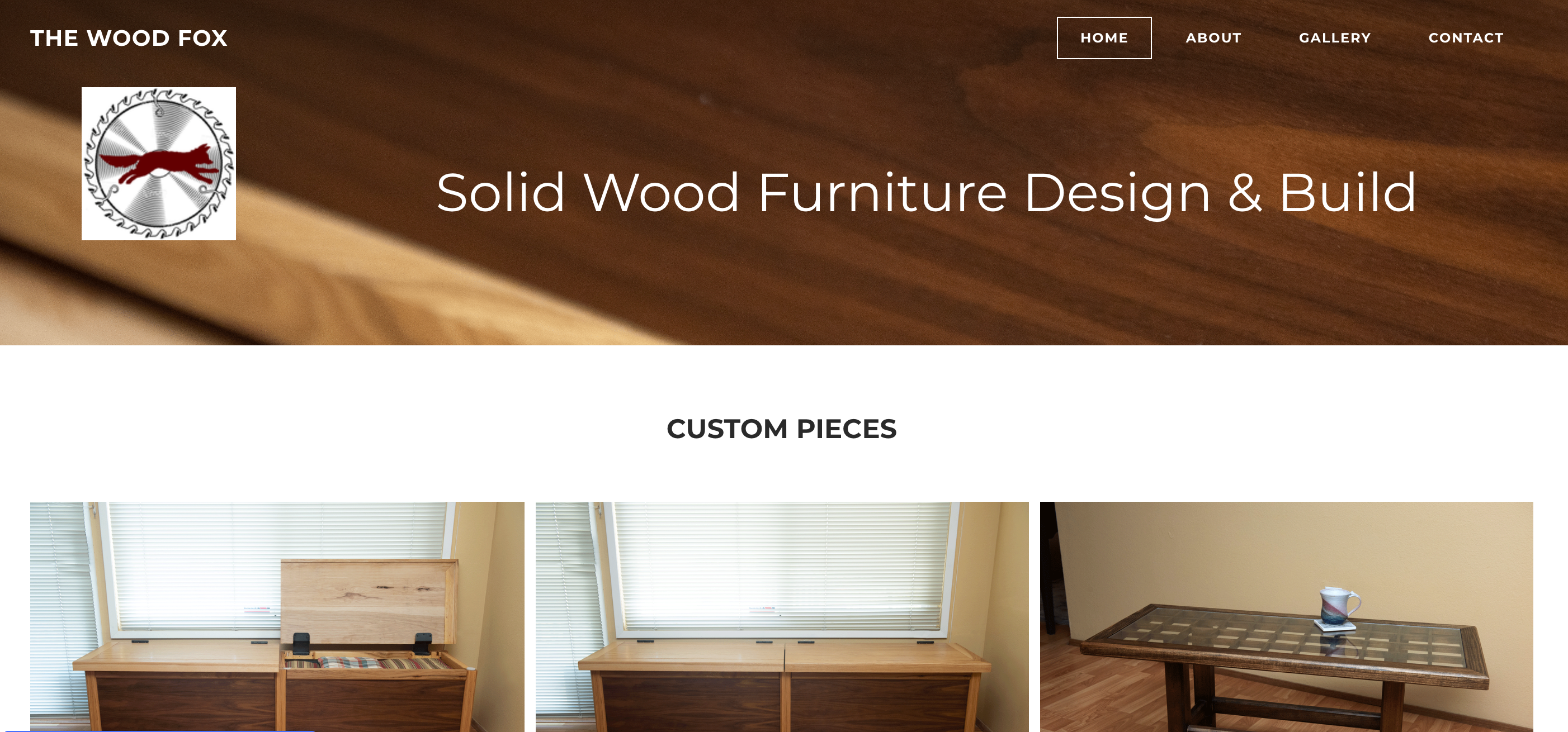 Website for the Wood Fox