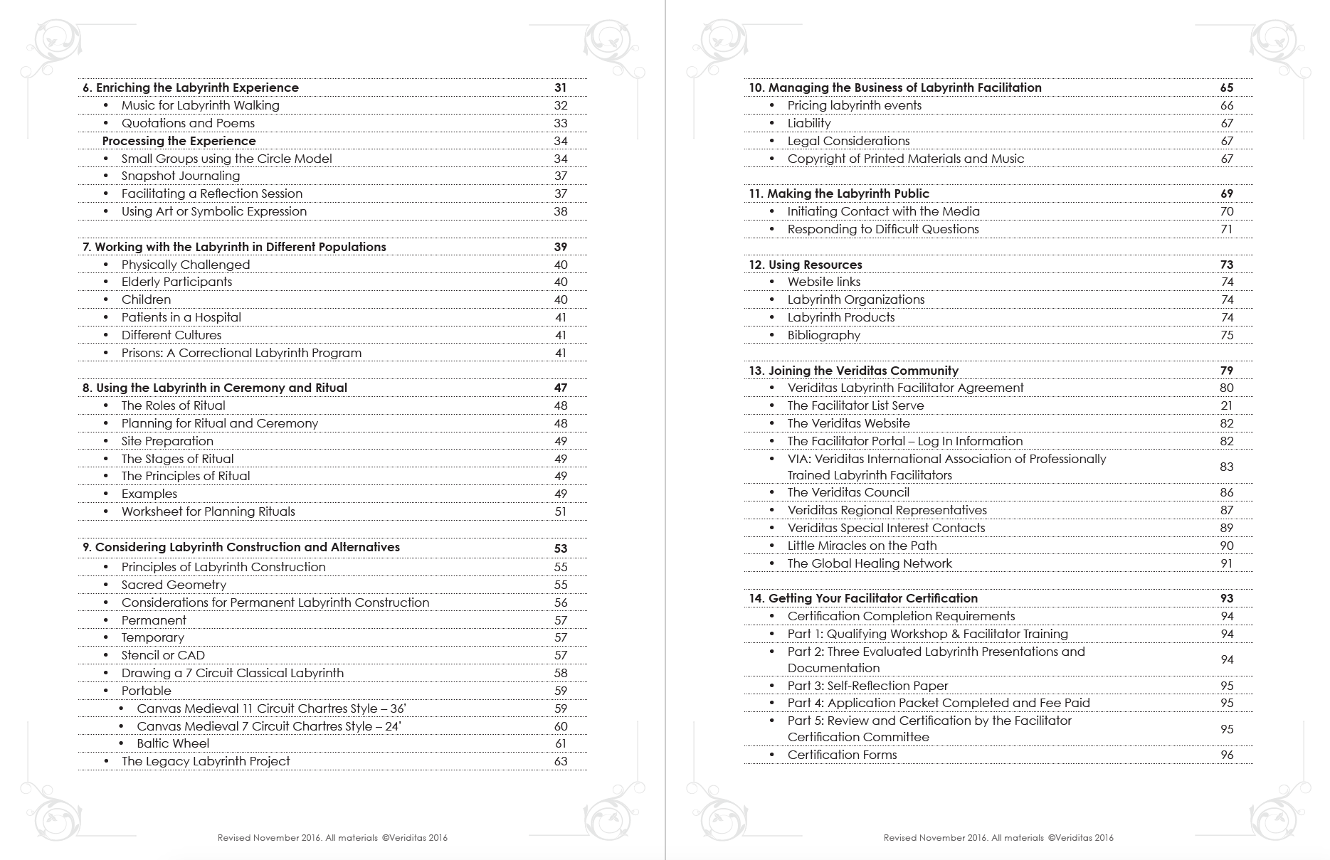Facilitator Training Manual