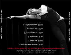 Sarah Chevalier CD Cover Design