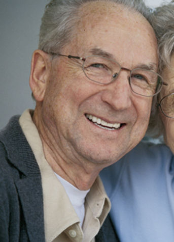 Smiling Grandpa
