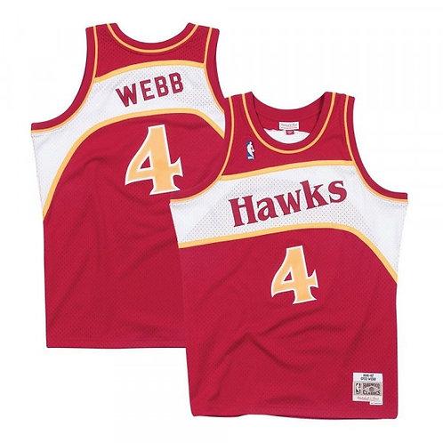 Hawks 1986/87 classic jersey (Red Webb 4)