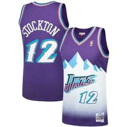 Utah Jazz John Stockton #12 1997-98 jersey