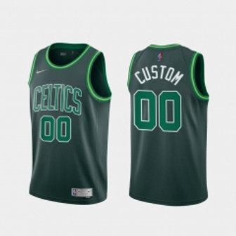 Boston Celtics heatpressed Earned jersey