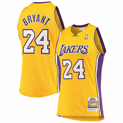 Lakers 2006/2007 classic jersey (Yellow Bryant 24)