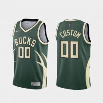 Miluakee Bucks heatpressed earned jersey