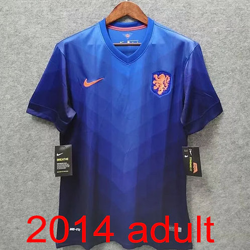 Netherlands 2014 away jersey