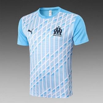 Marseille pre-match jersey (blue)
