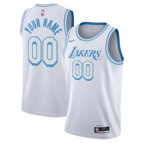 Los Angeles Lakers heatpressed City jersey