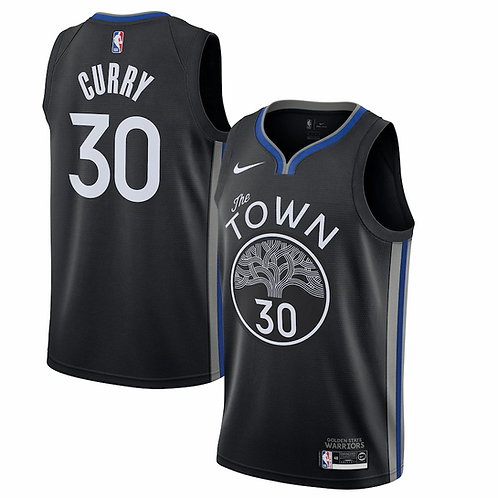 Golden State Warriors Curry #30 city edition 2019