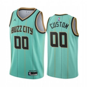 Charlotte Hornets heatpressed City jersey