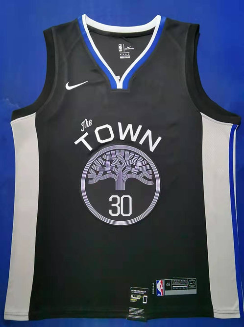 """Golden State Warriors Curry #30 """"The Town"""""""
