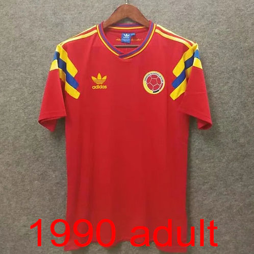 Colombia 1990 away jersey