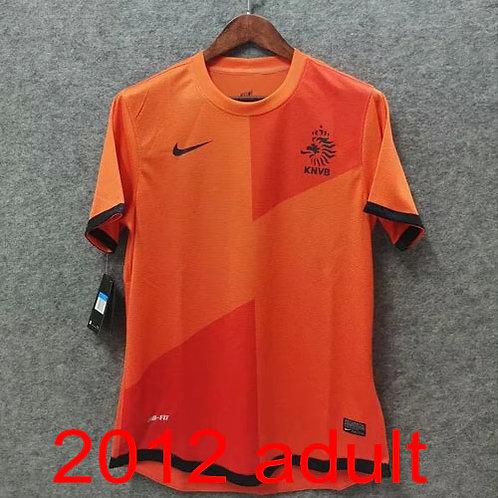 Netherlands 2012 home jersey