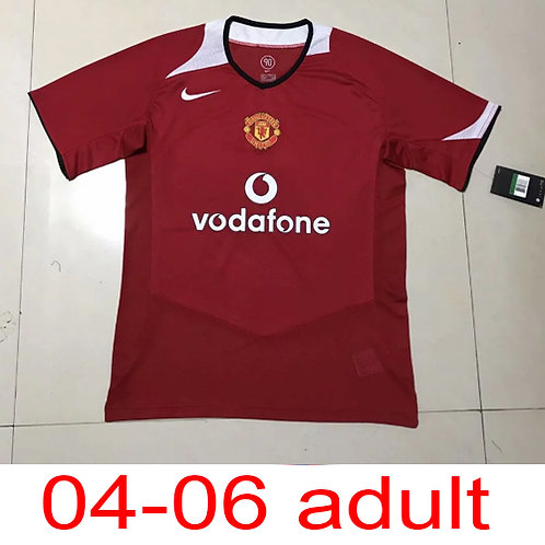 Man United 2004/06 home jersey